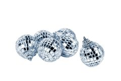 Mirror disco balls Stock Photo