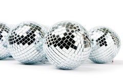 Mirror disco balls Stock Image
