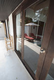 Mirror door design epic Thailand Stock Photography