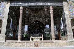 Mirror facade. Of Golestan palace in Tehran, Iran Royalty Free Stock Photo