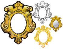 Mirror frame Royalty Free Stock Photo