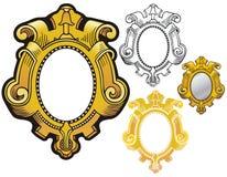 Mirror frame Royalty Free Stock Photo