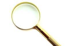 Mirror glance Stock Image