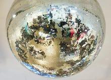 Mirror glass ball Stock Photos