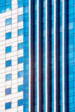 Mirror glass building Royalty Free Stock Images