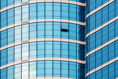 Mirror glass building Stock Photography