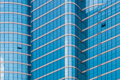 Mirror glass building Royalty Free Stock Image
