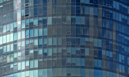 Mirror glass facade skyscraper buildings Royalty Free Stock Photo
