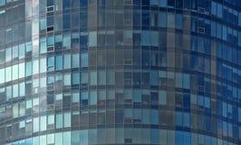 Mirror glass facade skyscraper buildings Royalty Free Stock Photo