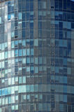Mirror glass facade skyscraper buildings Royalty Free Stock Photography
