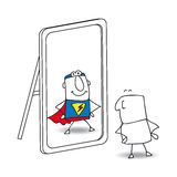 The mirror Royalty Free Stock Photography