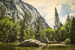 Mirror Lake Yosemite National Park stock images