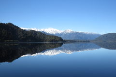 Mirror Lake, Franz Josef, New Zealand Royalty Free Stock Photography