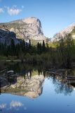 Mirror lake Stock Image