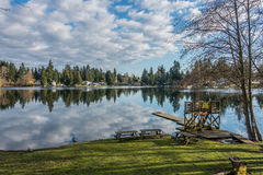 Mirror Lake Reflection 3 Royalty Free Stock Photos