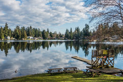 Mirror Lake Reflection 5 Royalty Free Stock Images