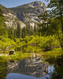 Yosemite Mirror Lake Royalty Free Stock Photography
