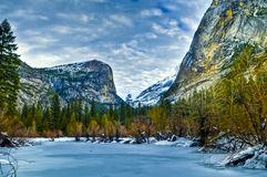 Mirror Lake Yosemite Royalty Free Stock Photos