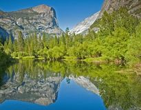 Mirror Lake Yosemite Royalty Free Stock Image