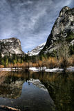 Mirror Lake at Yosemite Royalty Free Stock Images