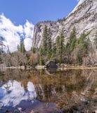 Mirror Lake Yosemite National Park Royalty Free Stock Images