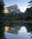 Mirror Lake, Yosemite National Park Stock Photo