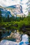 Mirror Lake Yosemite Stock Photo
