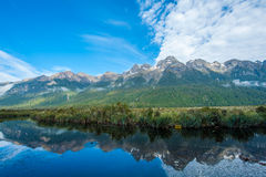 Mirror Lakes Stock Image
