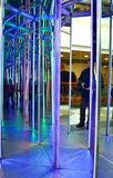 Mirror maze Royalty Free Stock Photos
