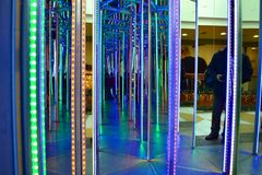 Mirror maze Royalty Free Stock Images