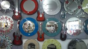 Mirror mosaics Royalty Free Stock Photography