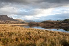 Mirror of mountain lake Stock Photography