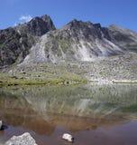 Mirror Mountains Stock Photo
