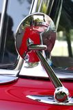 Mirror Of The Ancient Car Stock Photography