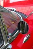 Mirror Of The Ancient Car Stock Photos