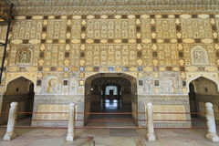 Mirror Palace Of Amber Fort royalty free stock photos