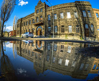 Mirror Panaroma in Kars Royalty Free Stock Image