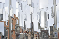 Mirror pieces Royalty Free Stock Image