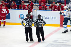 Mirror referees Royalty Free Stock Images