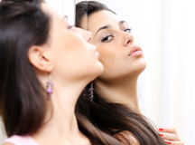 Mirror reflection Stock Photo