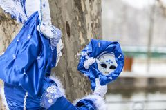 Free Mirror Reflection - Annecy Venetian Carnival 2013 Stock Images - 106359014