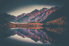 Mirror See Lizenzfreie Stockfotografie