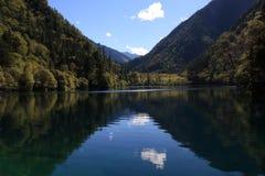Mirror See in Nationalpark Jiuzhaigou von Sichuan China Lizenzfreies Stockbild