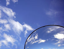 Mirror in the sky. Background Royalty Free Stock Images