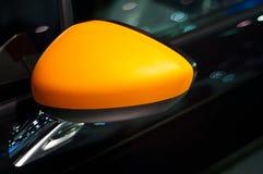 Mirror of  Sport  Car Stock Photo