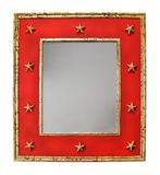 Mirror with stars Royalty Free Stock Photography