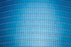 Mirror of tower business building Royalty Free Stock Images