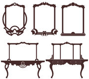 Mirror. Vector illustration (EPS 10 Royalty Free Stock Image