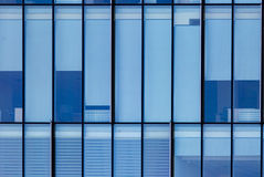 Mirror windows of a building as a background Royalty Free Stock Photos