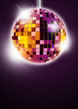 Mirrorball disco background Royalty Free Stock Photography